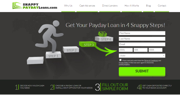 Snappy Payday Loans Reviews